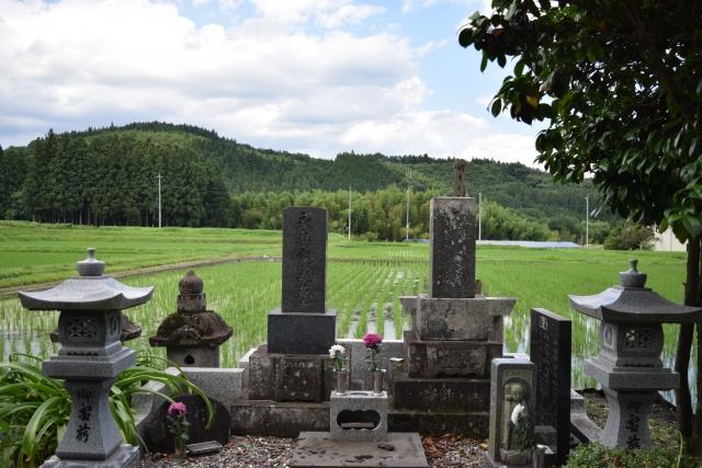 田舎のお墓